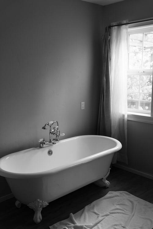A beautiful bathtub after reglazing